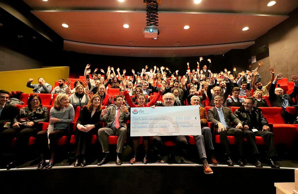 Fondation TBS Alumni, remise de bourses