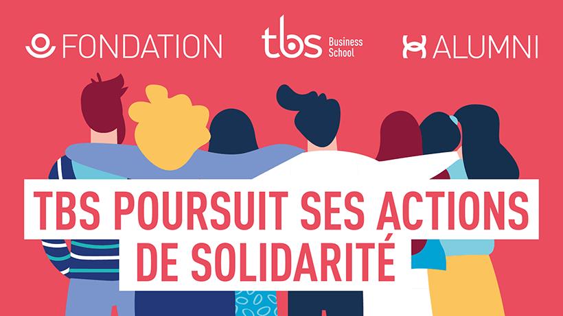 Pour aider ses étudiants, TBS a mis en place un fonds de solidarité exceptionnel dès la première semaine de confinement. Près de 40 000 € ont déjà été débloqués…