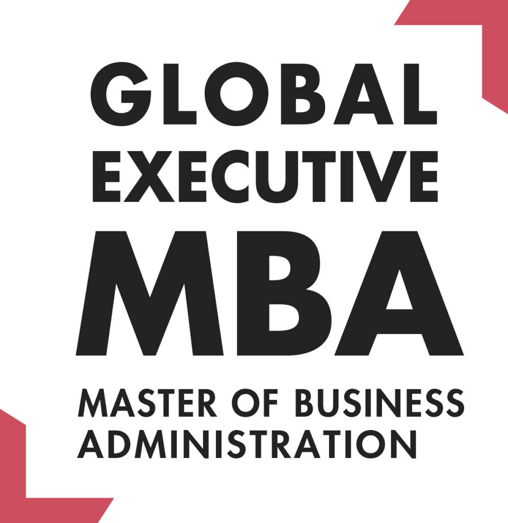 Logo Global Executive MBA 2020 Baseline Angles Rouges