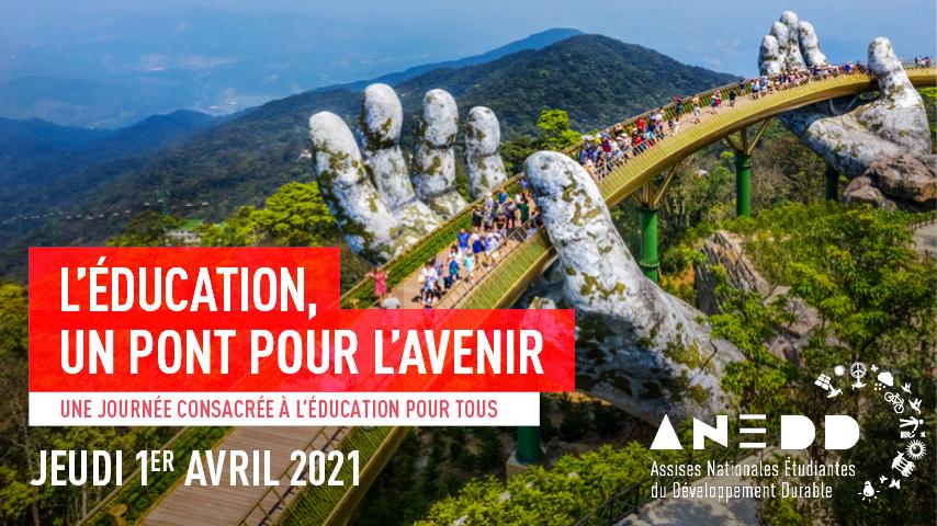 Participez à nos ANEDD 2021, le jeudi 1er avril