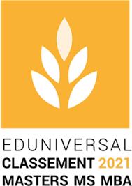 Logo Classement Eduniversal 2021 2