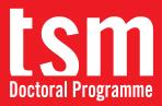 Tsm Doctoralprogramme