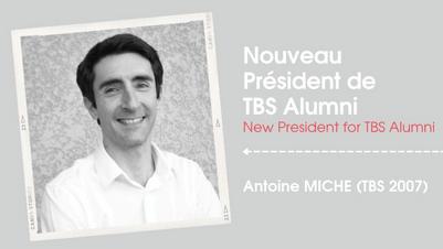 Un Nouveau President Pour Tbs Alumni