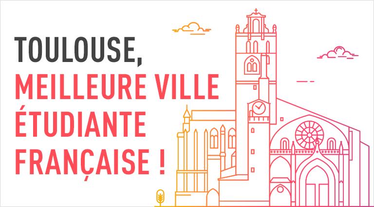 Toulouse : meilleure ville étudiante