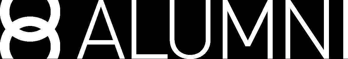 Logo Alumni Blanc