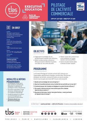 Tbs Fiche Bloc Pm 3 Pilotage Act Commerciale 2020
