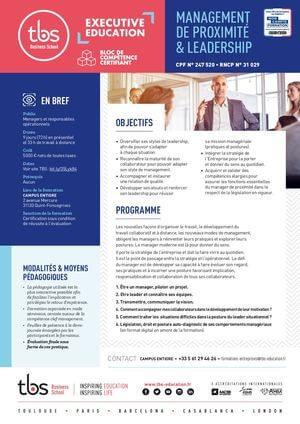 Tbs Fiche Bloc Pm 4 Proximite Leadership 2020
