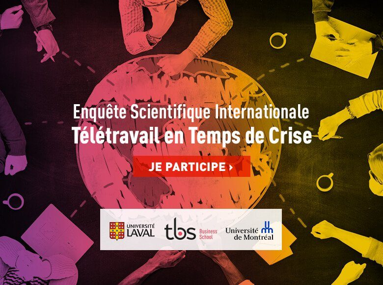 Tbs Enquete Scientifique Internationale Teletravail Crise