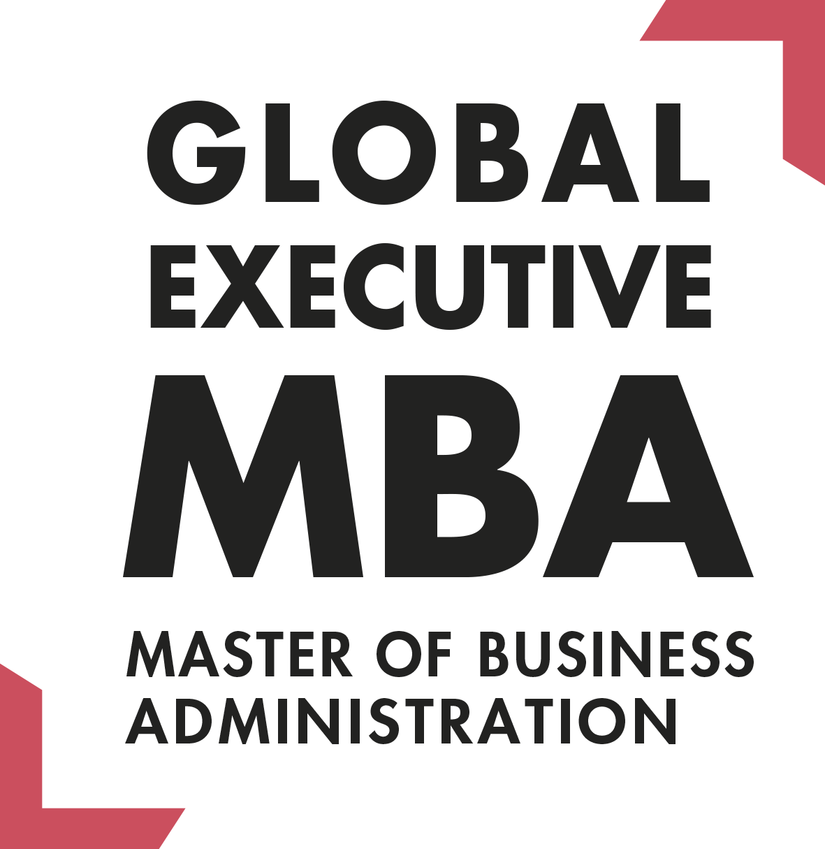 Logo Global Mba 2020 Baseline Angles Rouges