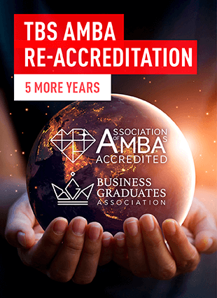 Tbs Re Accreditee Amba Pour 5 Ans