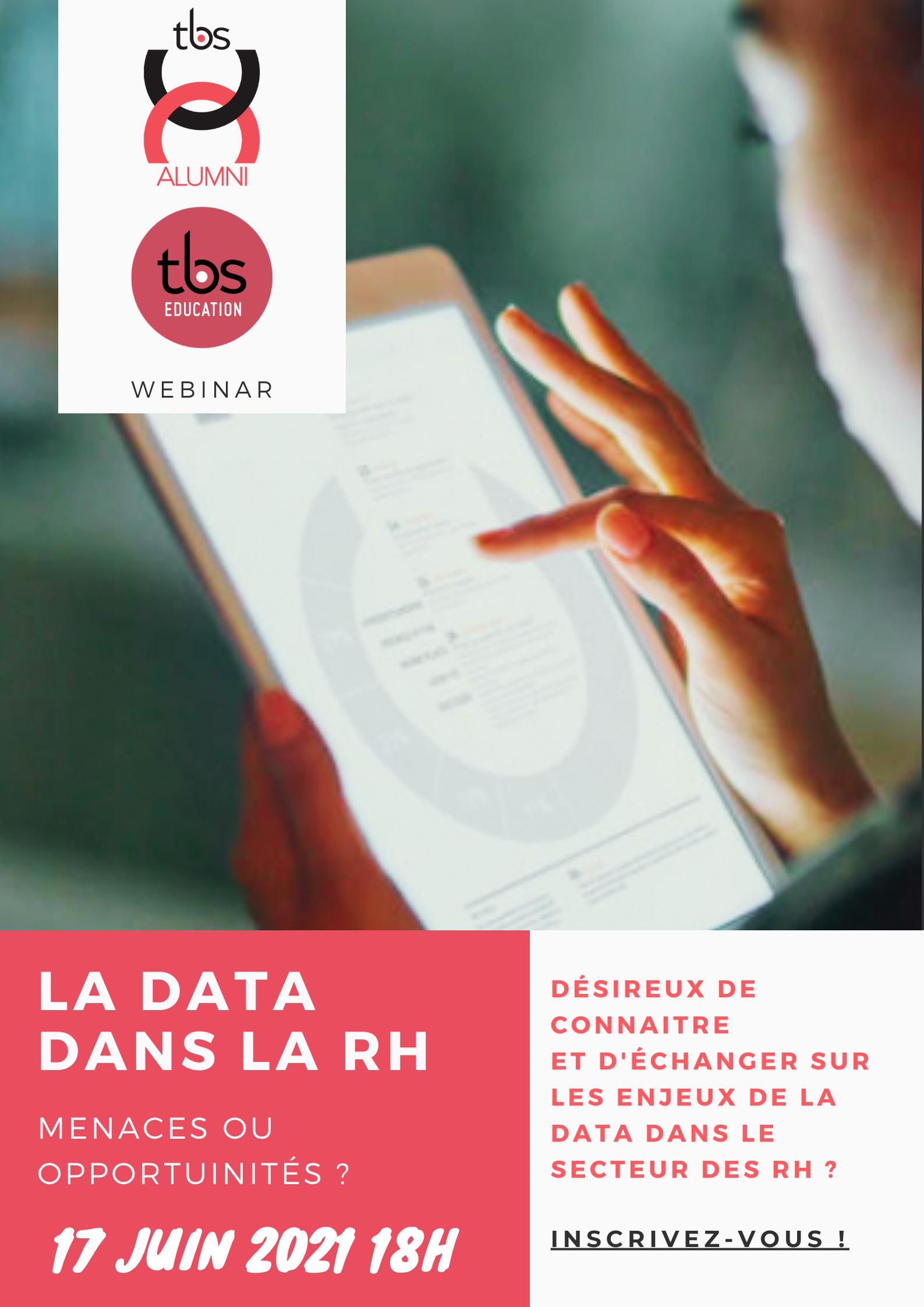 Visuel Webconférence La Data Dans La Rh
