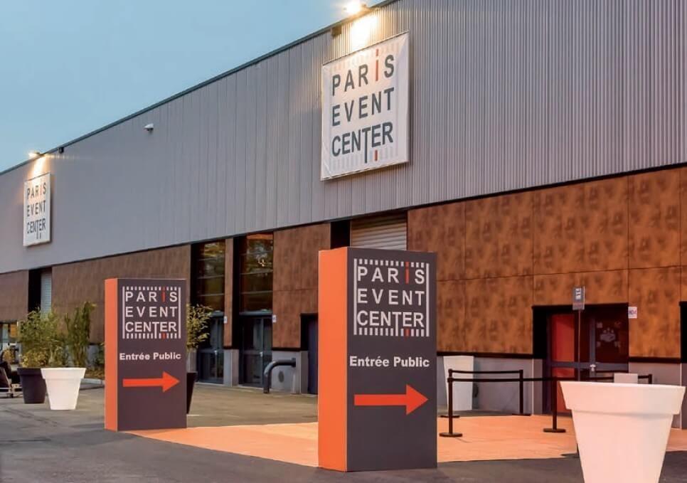 paris event center centre d exposition